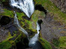 Gluggafoss, Iceland, Water falls, waterfalls, aerial, drone, phantom 4, DJI, Bernard Chen