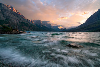 Glacier, National Park, Montana, mountains, rivers, lakes, trails, St. Mary Lake, Goose Island, Glacier National Park