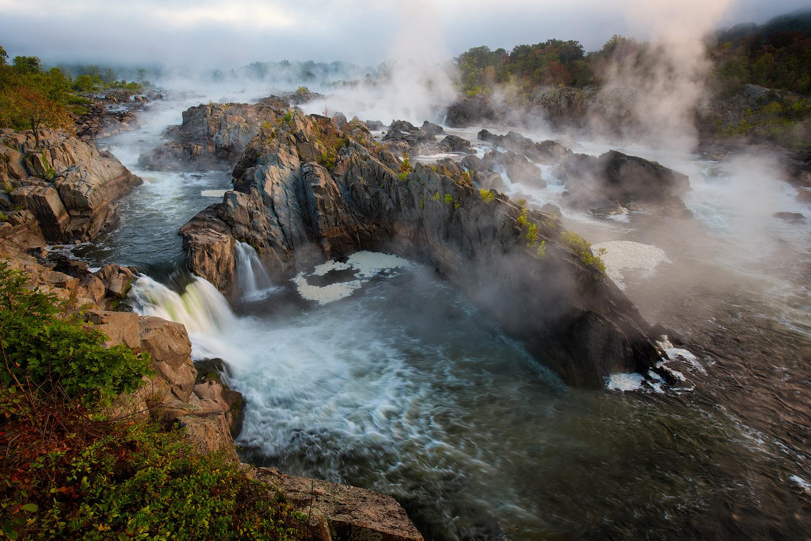 Great Falls Park, Potomac River, Virginia, Maryland, Great Falls, River, National Park Service, Mather Gorge, water, waterfalls...