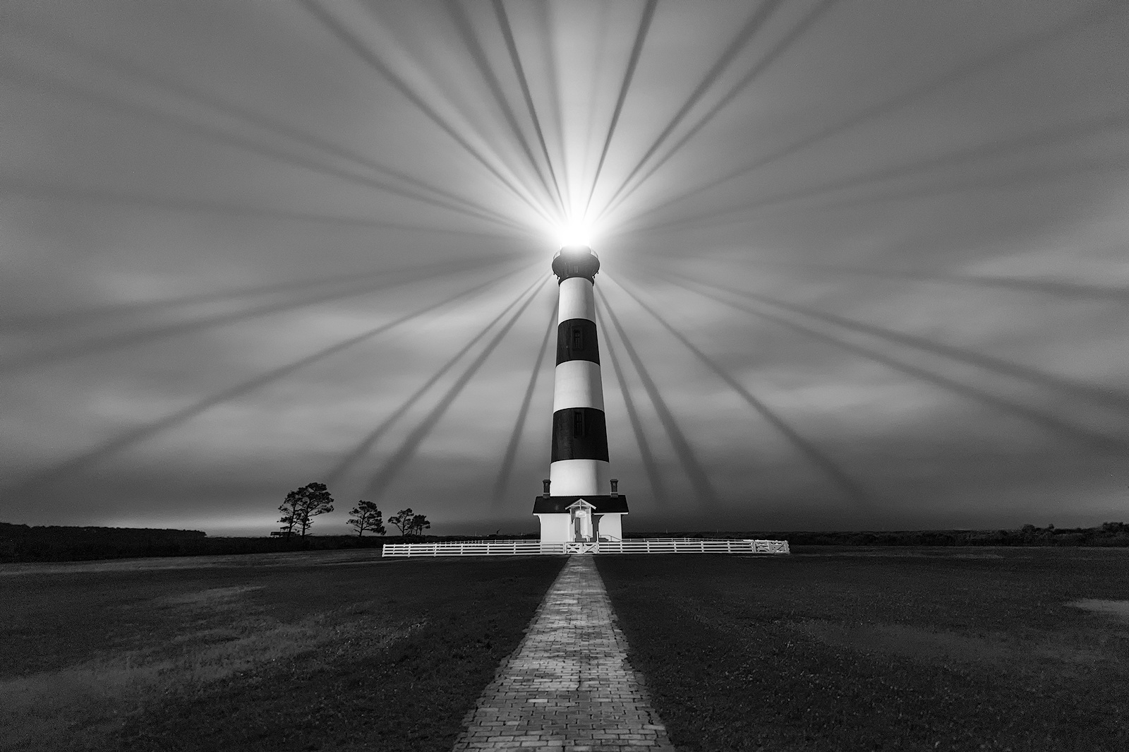 Bodie Island Lighthouse, North Carolina, sunset, OBX, Outer Banks, Hatteras Island, Cape Hatteras Seashores, scenic, rays, dramatic sky, serene, outdoor, landscape, historic, atlantic, ocean, photo