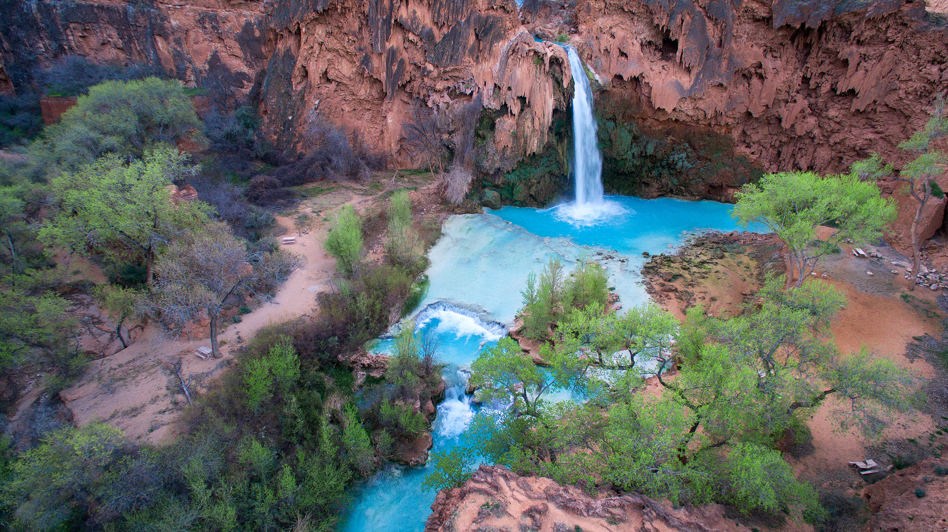 Havasupai, Havasupai Falls, Indian reservation, arizona, blue water, southwest, desert, waterfalls, trails, canyons, photo