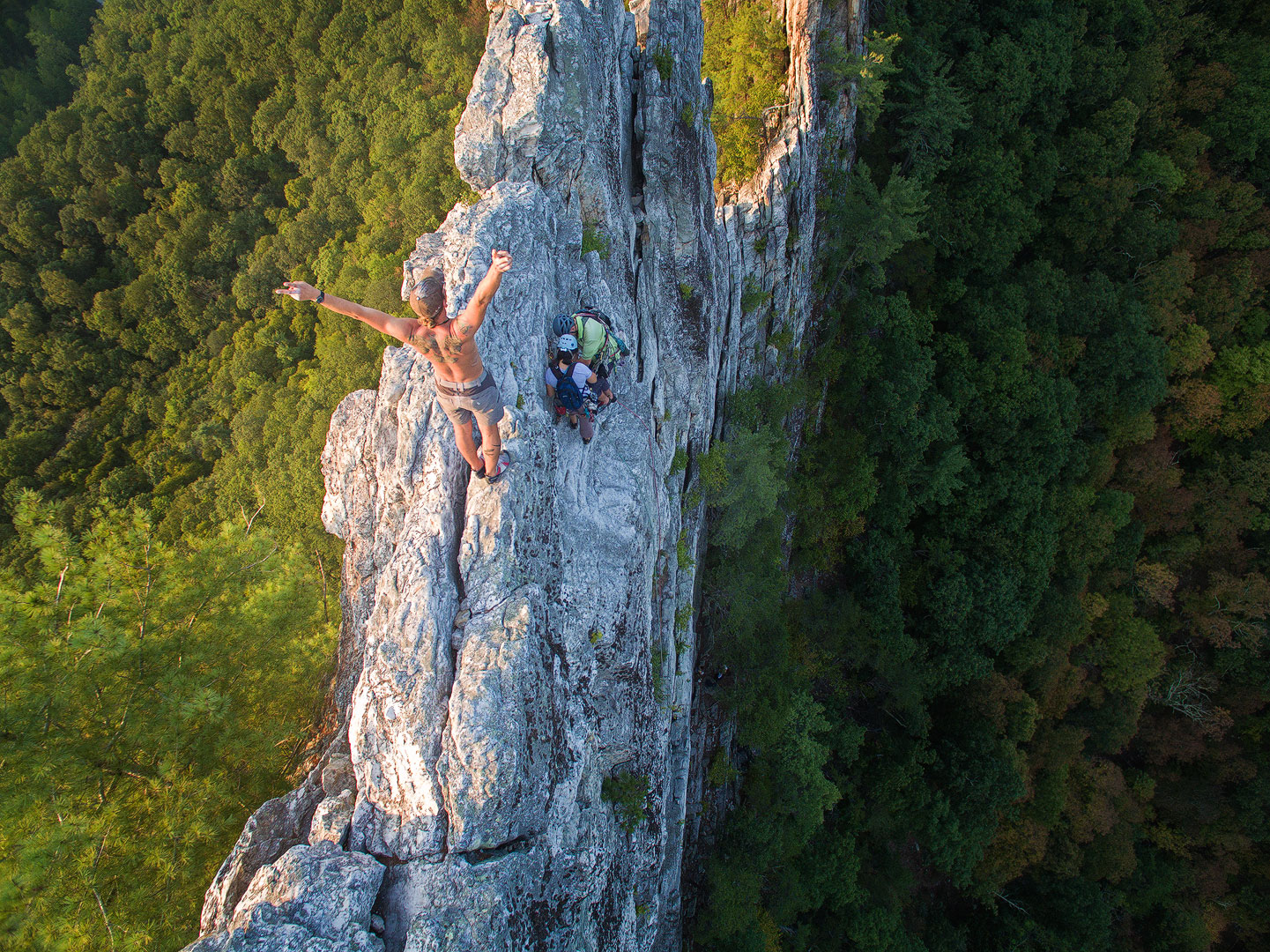 Ascension, Seneca Rocks, West Virginia,  	aerial, photos, drone, dji, phantom 3, bernard chen, timescapes, photo