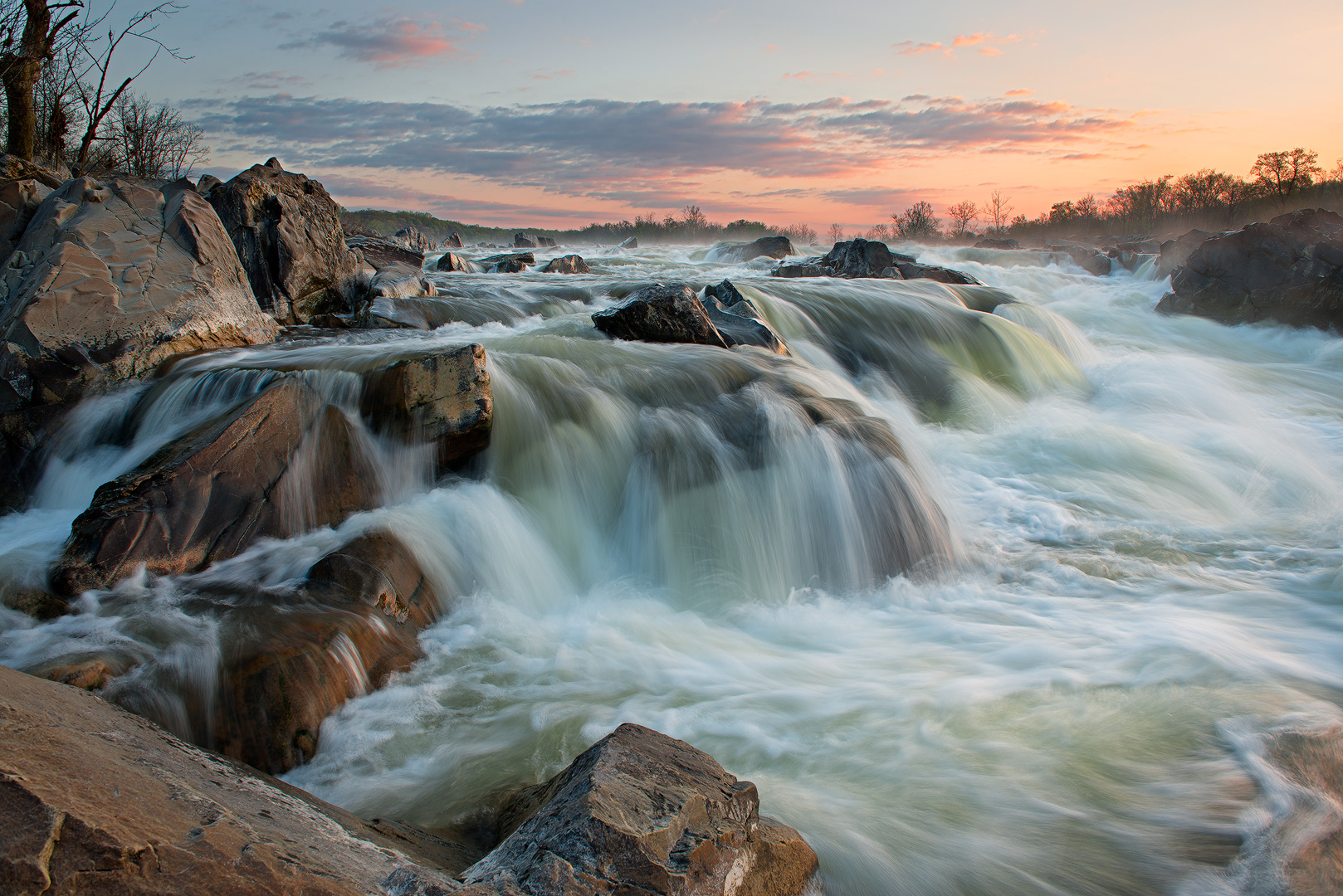 River, Canal, Great Falls Park, Potomac, Virginia, Maryland, Great Falls, River, National Park Service, Mather Gorge, water...
