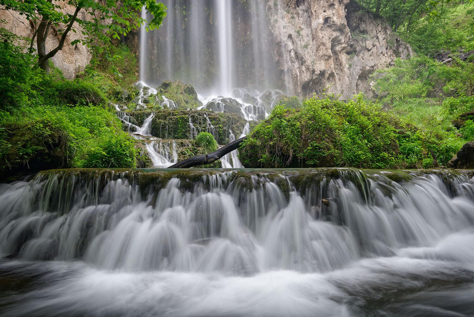 Virginia, Waterfall, Falling Springs Falls, Western Virginia, Spring, Mountain, Landscape, Stream, Cascades, photo