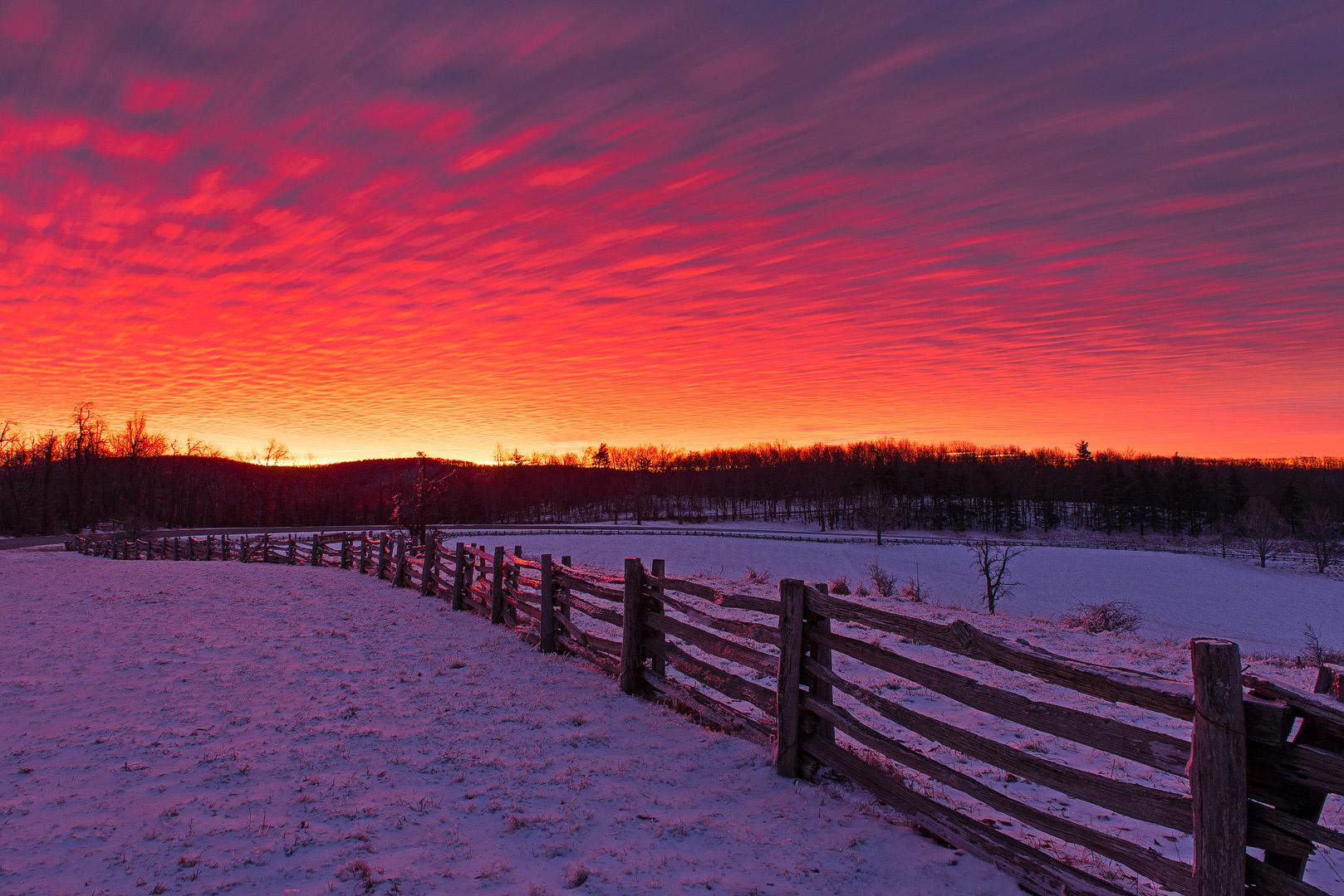 Winter Miracles Blue Ridge Parkway Virginia Bernard